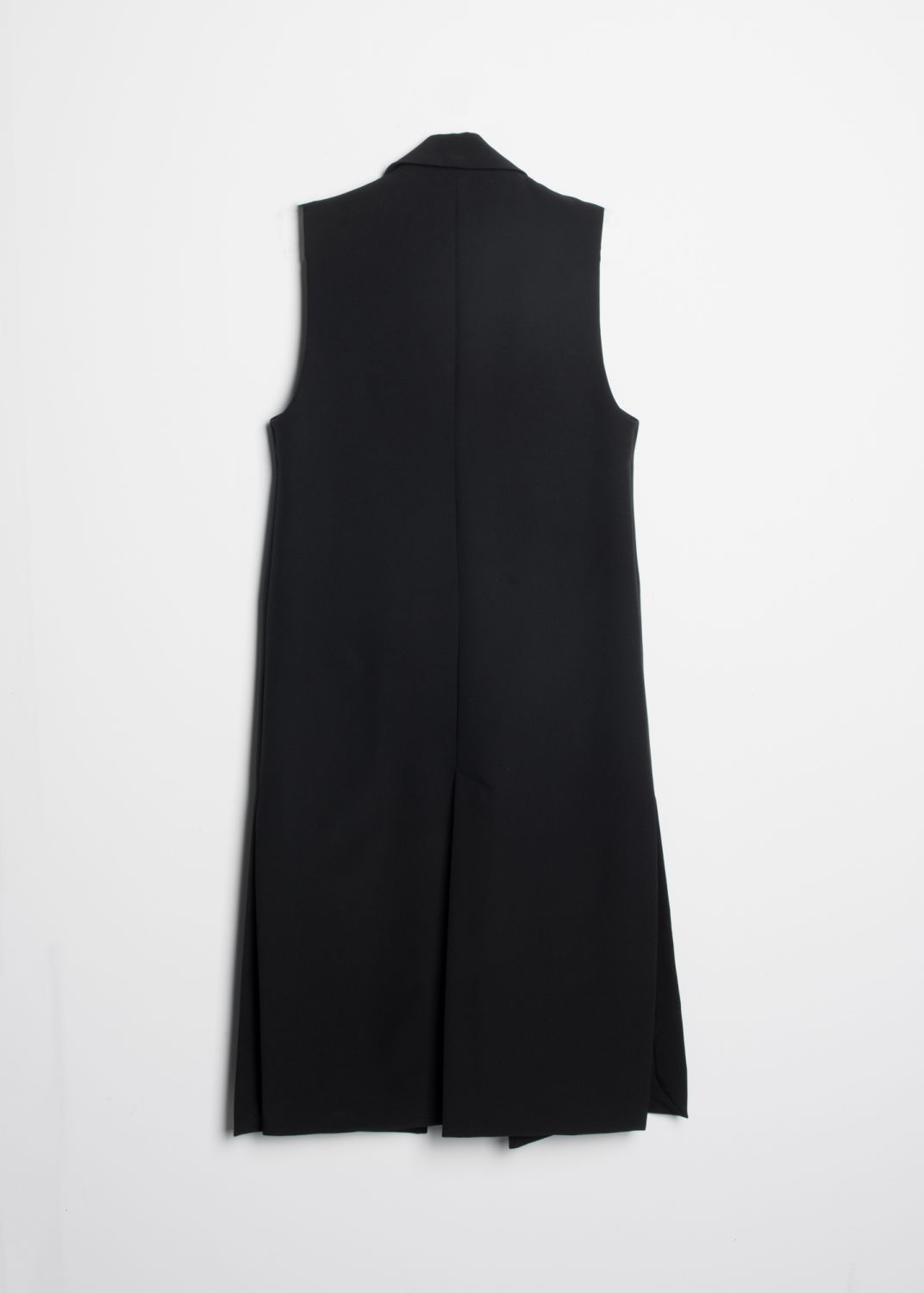 LONG DOUBLE BREASTED WAISTCOAT